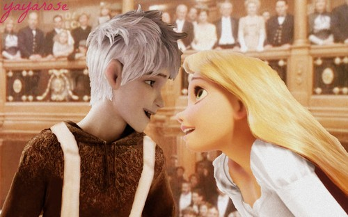 Titanic Jack Frost and Rapunzel