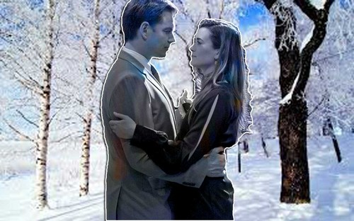 Tiva snow in the woods style