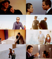 Tony and Ziva - Negative Space - tiva fan art