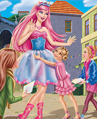 Barbie the Princess and the popstar wallpaper entitled Tori the Star