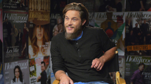 Travis Fimmel in THR's video lounge