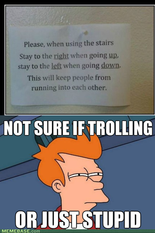 Memes trolling or just stupid