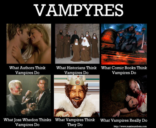 Vampiri#From Dracula to Buffy... and all creatures of the night in between.