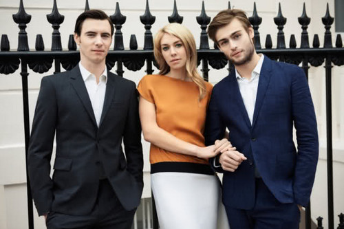 Vanessa Kirby, Harry Lloyd and Douglas Booth for US Vogue