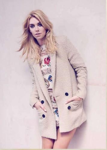 Vanessa Kirby @ InStyle, UK, October 2012