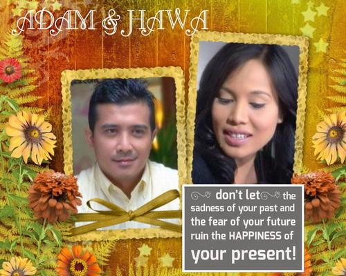 fond d'écran DRAMA ADAM DAN HAWA FANART mabelialong SIRI 5