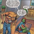 WTF? M'gann get away from him for your own safety - young-justice photo