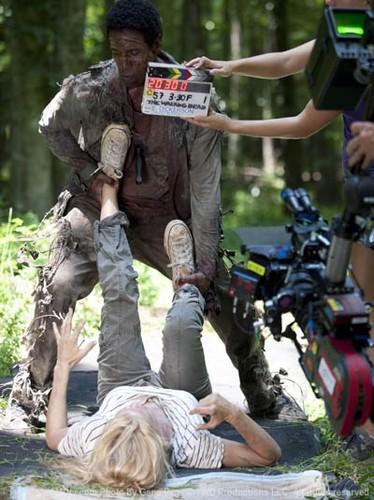 Walking Dead Behind the Scenes