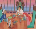 Walt Disney vitabu - Sir Grimsby, Sebastian, Prince Eric & Princess Ariel