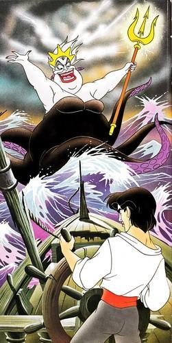 Walt Disney Book hình ảnh - Ursula & Prince Eric