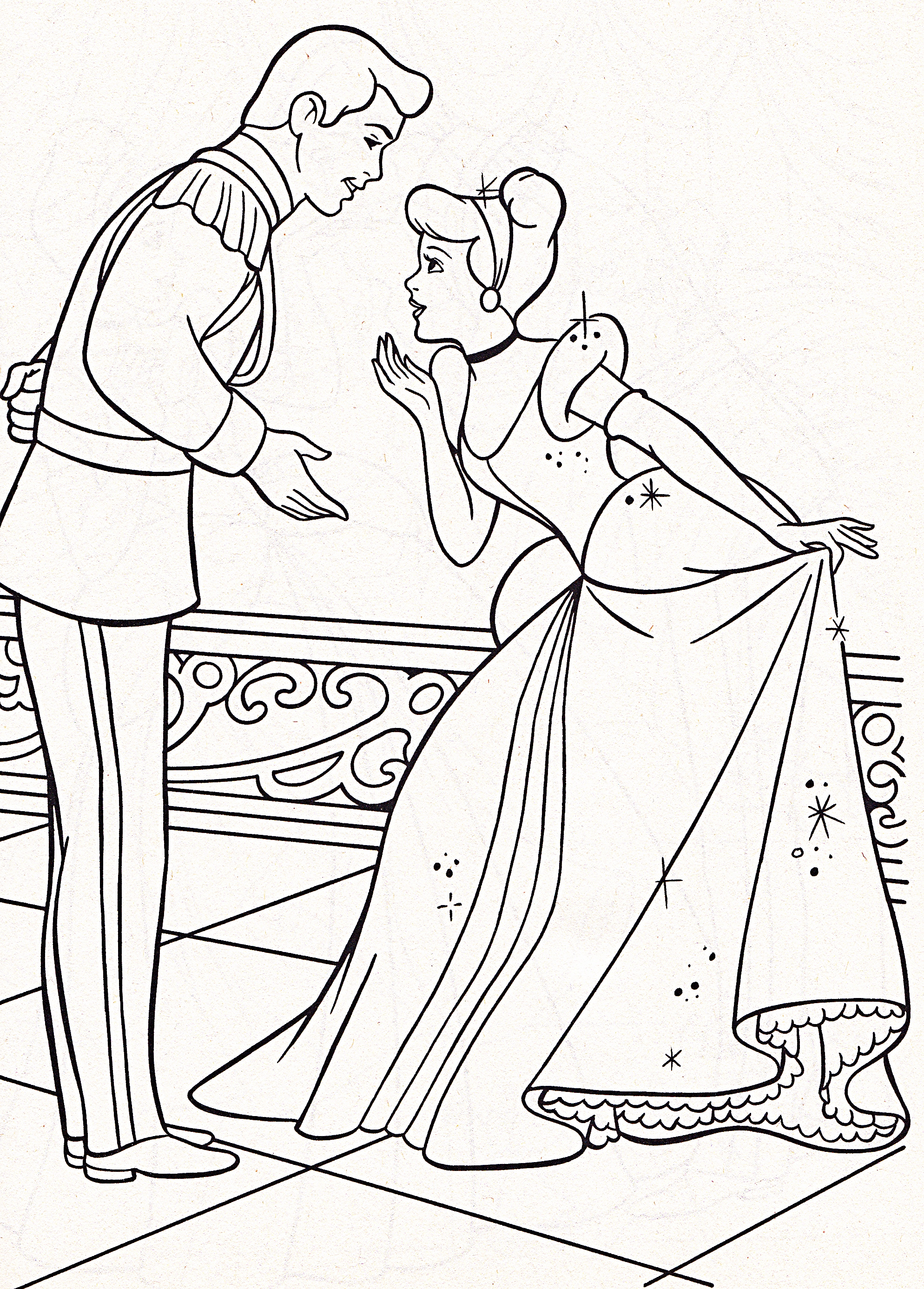 personaggi Disney immagini Walt Disney Coloring Pages - Prince ...
