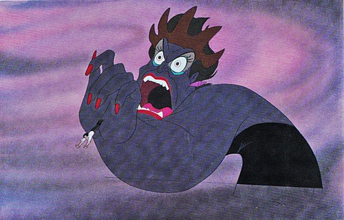 Walt Disney Production Cels - Prince Eric & Ursula