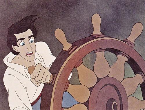 Walt Дисней Production Cels - Prince Eric