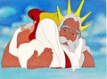Walt Disney Production Cels - Princess Ariel & King Triton