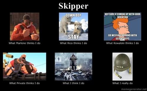What skipper does
