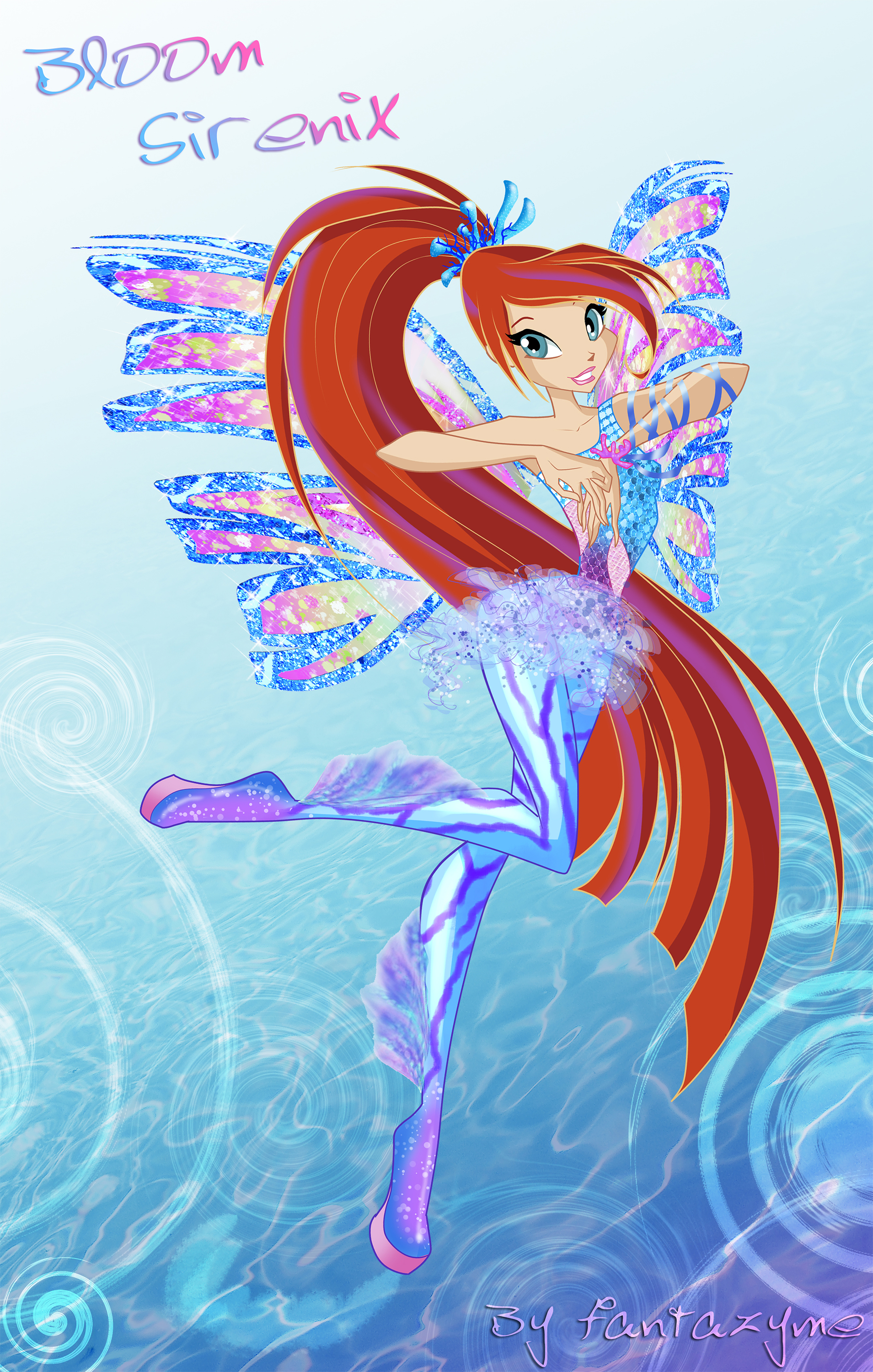 The winx club winx club season 5 bloom sirenix винкс клуб