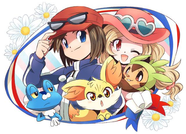 Pokemon x and y male player im genes x male player fondo for Bano akira gardevoir