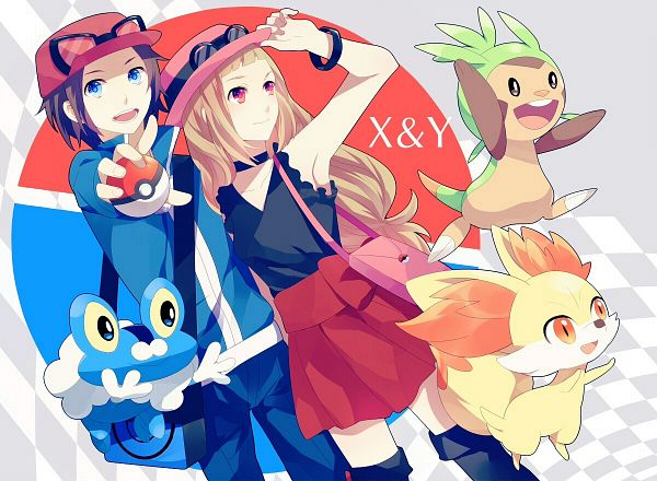 Pokemon x and y male player images x male player wallpaper and pokemon x and y male player images x male player wallpaper and background photos voltagebd Gallery