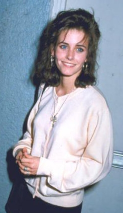Courtney cox young