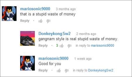 Youtube commento FAIL