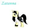 Zatanna as a pony - young-justice photo