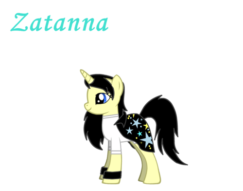 Zatanna as a poni, pony