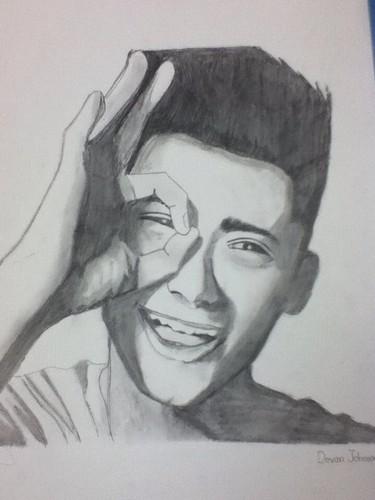 Zayn Malik sketch