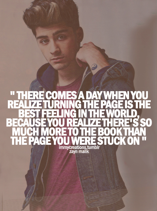 One Direction Zayn Malik Quotes