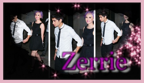 Zayn And Perrie 壁紙 possibly containing a コンサート and a portrait titled Zerrie によって imy