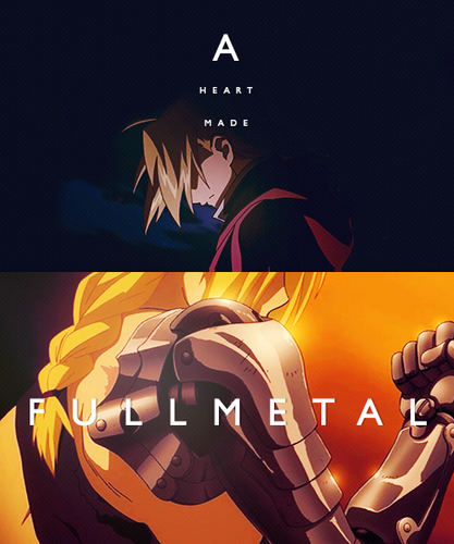 a heart made full metal