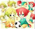 aww kawaiii &lt;3 &lt;3 - inazuma-eleven photo