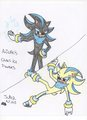 azureshadow's power's - sonadow fan art