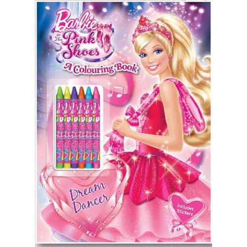 barbie in the pink shoes books