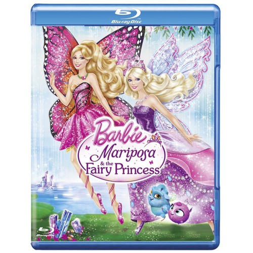 barbie mariposa and the fairy princess in blu-ray