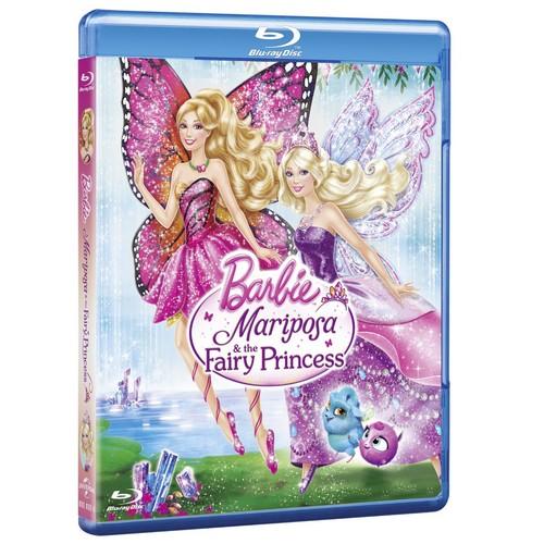 芭比娃娃 mariposa and the fairy princess in blu-ray