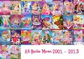 barbie films 2001-2013