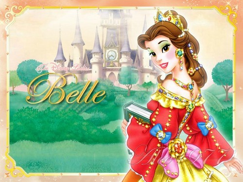 belle's laid-back look