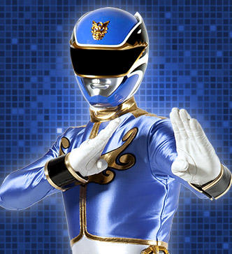 The Power Rangers wallpaper called blue ranger megaforce