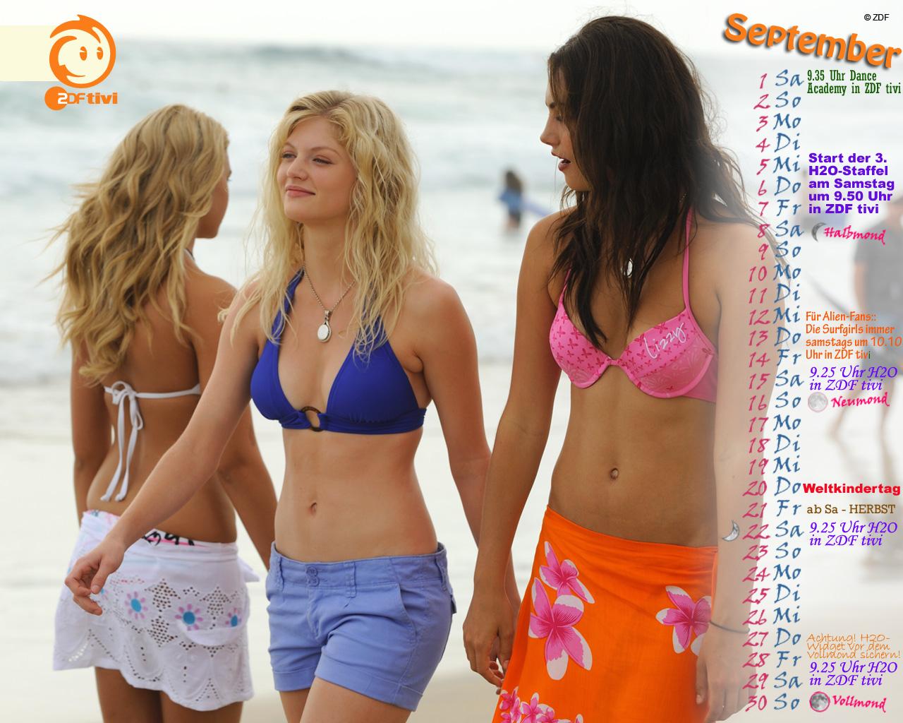 cariba heine blue water high bikini
