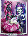 catty noir ang her biggest fan - monster-high photo
