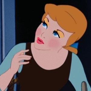 cinderella's fashionable look