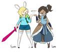 fionna and korra