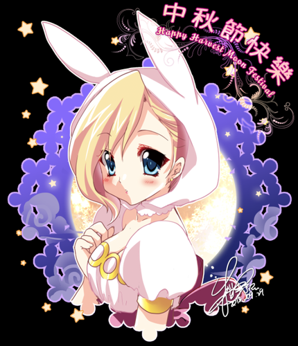 Fiolee (Fionna and Marshal Lee) پیپر وال called fionna's happy harvest moon festiva