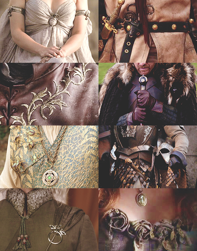 Game of Thrones + costume details