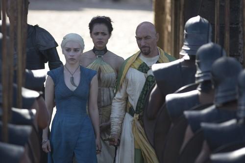 Kraznys, Daenerys Targaryen & Missandei