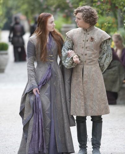 Sansa Stark & Loras Tyrell