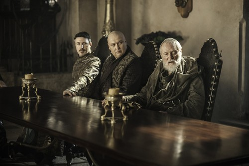 Pycelle, Varys & Petyr Baelish