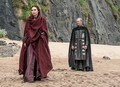 Stannis Baratheon &amp; Melisandre - game-of-thrones photo