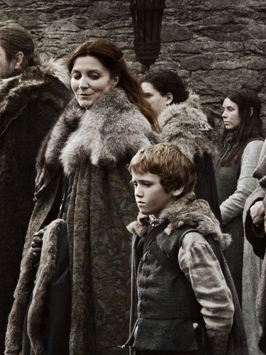Catelyn & Rickon Stark