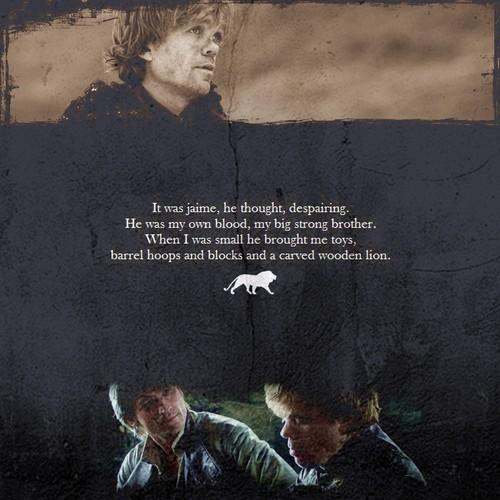 Tyrion & Jaime Lannister